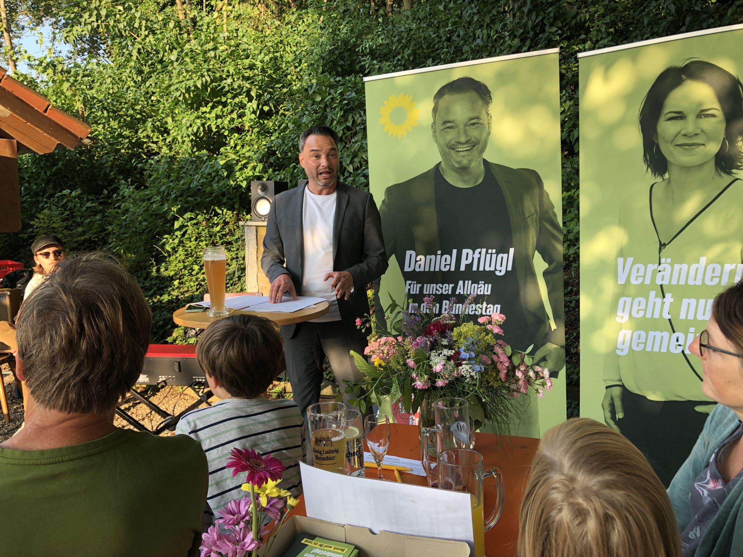 Jazz meets Politics – Daniel Pflügl zu Gast in Eppishausen