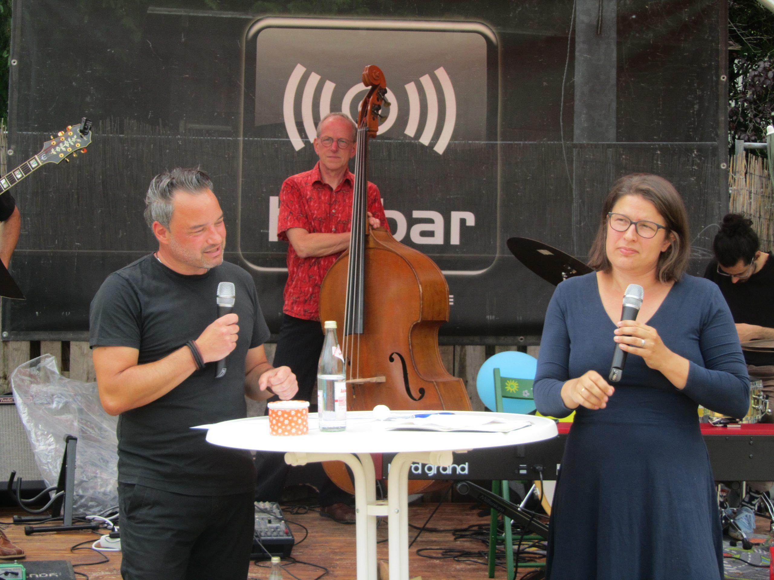 Jazz meets Politics – Bundestagskandidat Daniel Pflügl lud zum Gespräch